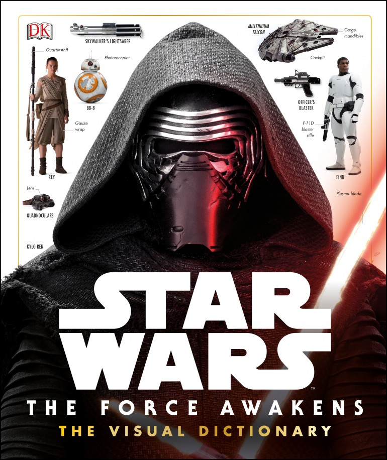9780241198919 - Star Wars Force Awakens Visual Dictionary - HR