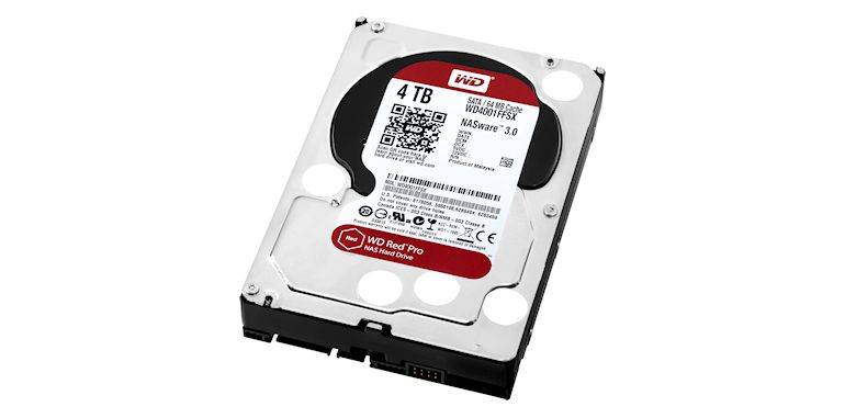 WD Red Pro Drives and NAS Enclosure - 01