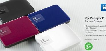 WD My Passport Ultra Portable HDD-Header