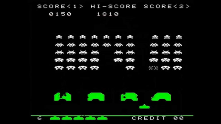 Game Hall of Fame - Space Invaders In Game