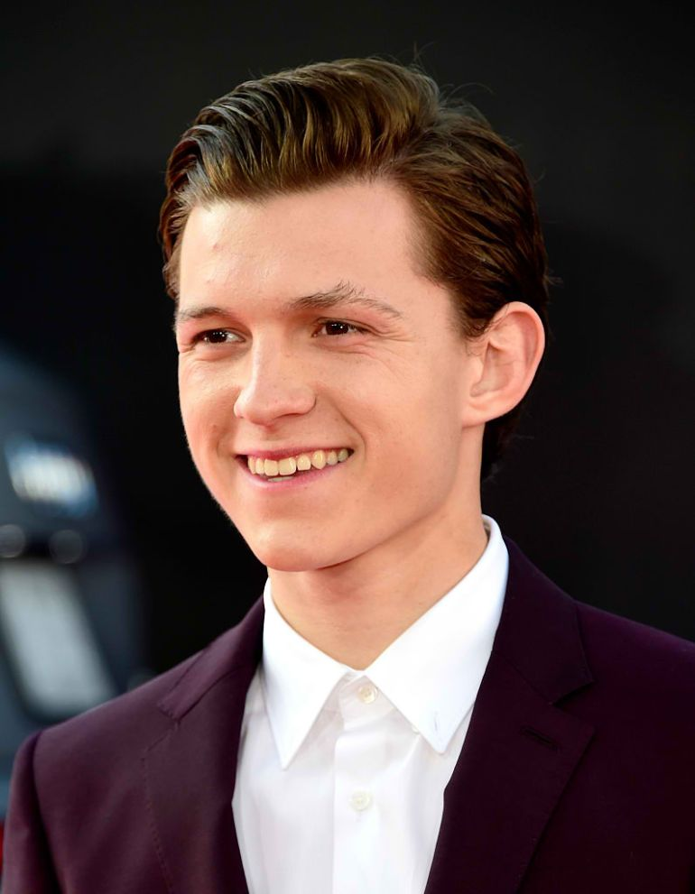 Tom Holland's spider-man peter parker