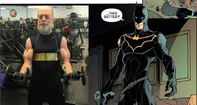J.K. Simmons is going beast mode as commissioner Gordon