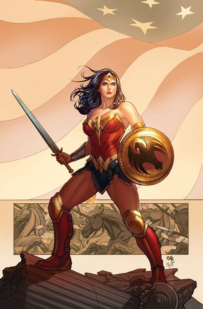 comic book review THE LIES Chapter One wonder woman #1 review