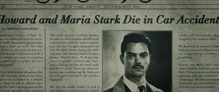 howard stark death if dc made captain america civil war