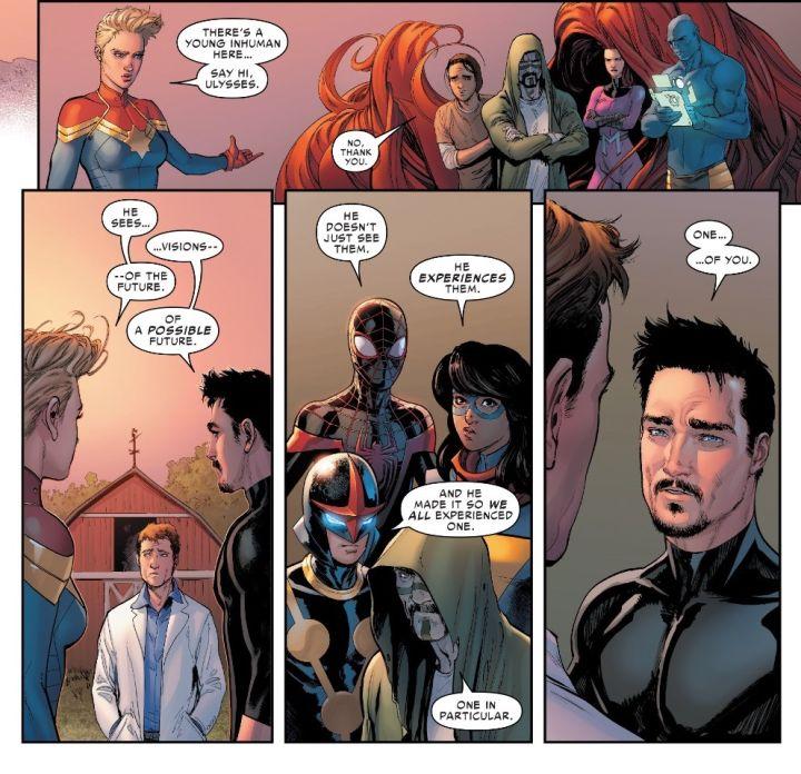 Civil War II #3 - comic book