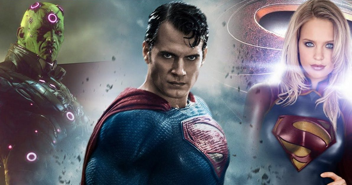 Rumour: Man Of Steel 2 To Include Brainiac & Supergirl