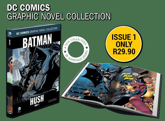 Eaglemoss's DC Comics Graphic Novel Collection