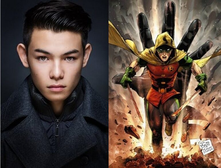 Ryan Potter Robin