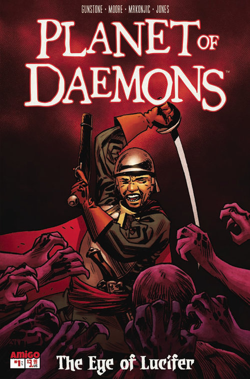 Planet of Daemons #1 – Comic Book Review