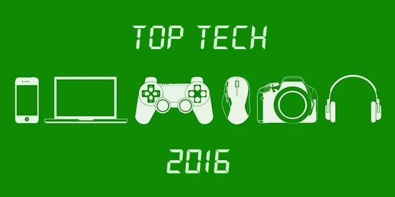 The Top 5 Tech of 2016