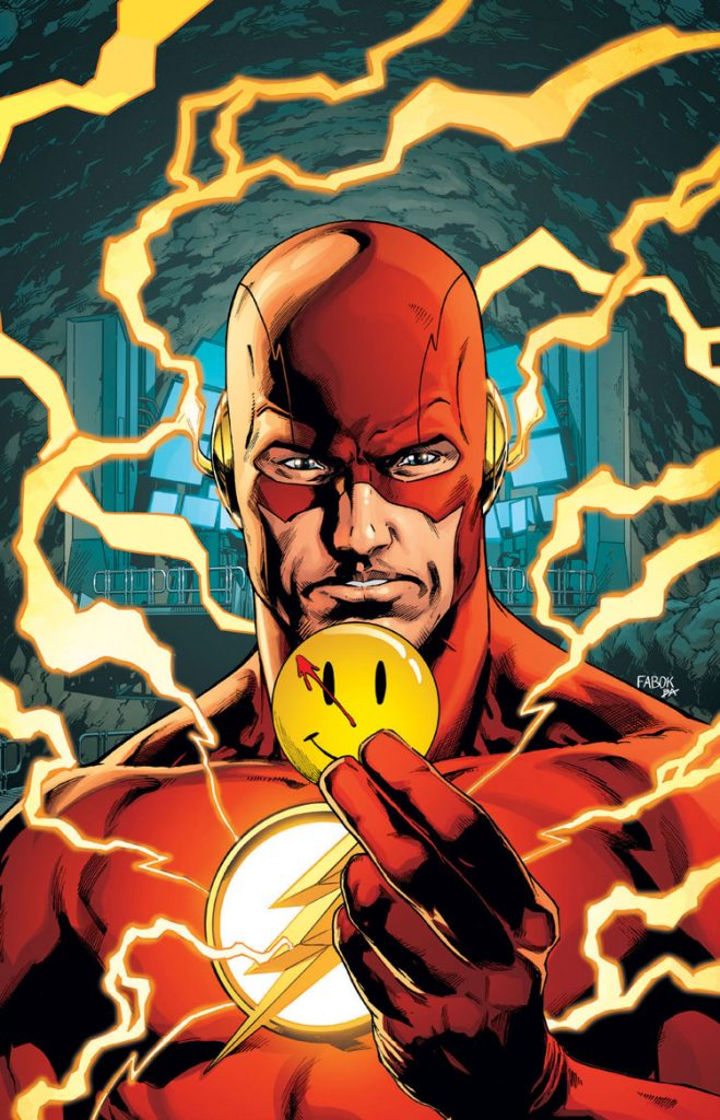 Batman & The Flash To Investigate The Watchmen In The Upcoming Crossover The Button