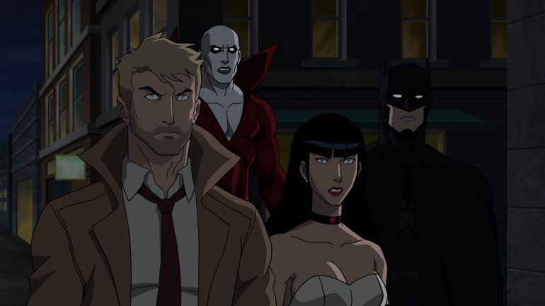 Justice League Dark Animated moive