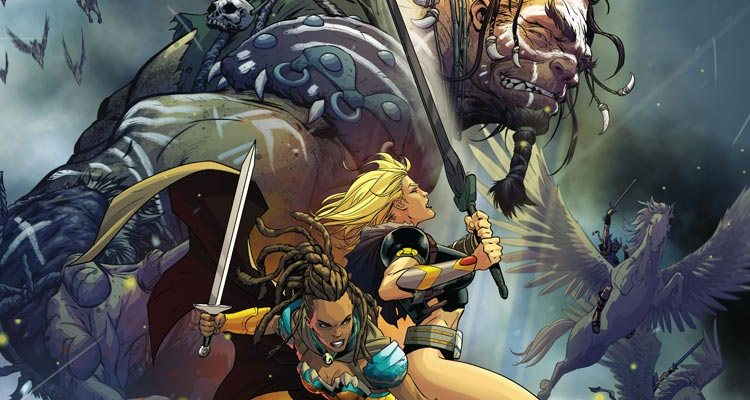 Odyssey Of The Amazons #1 Review
