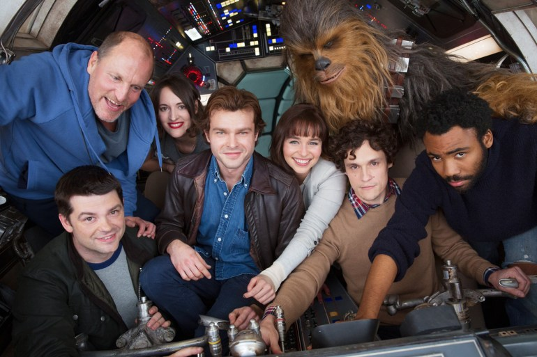 Han Solo: A Star Wars Story Production Kicks Off With A Cast Photo
