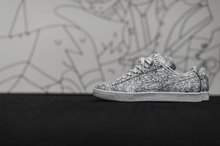 online store 98b74 1af68 Puma Launches Clyde All-Star Game Pack By Artist Ale Giorgini