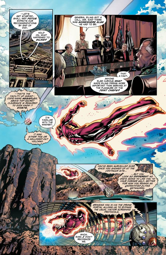The Fall and Rise of Captain Atom #3 Review