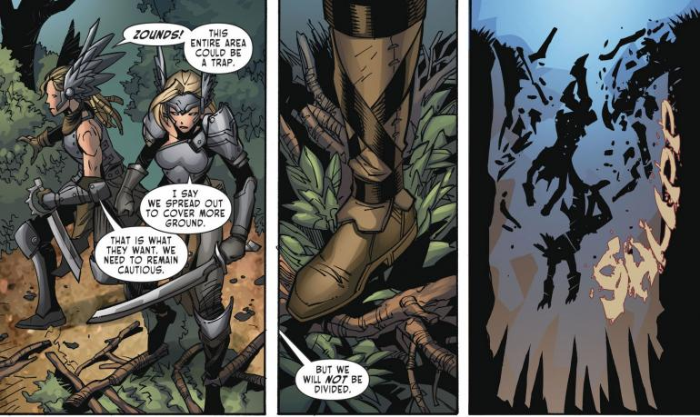 Odyssey Of The Amazons #3 Review - Zounds! Amazons Fall Foul Of Bad Writing