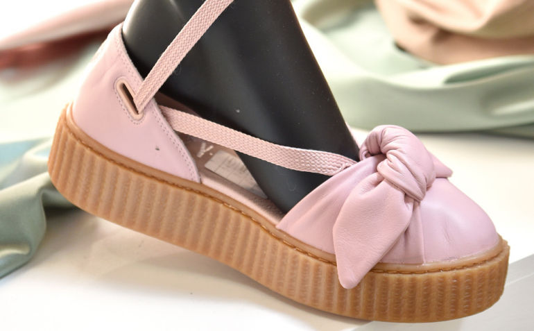 Puma Expands Its Fenty Range in SA with Creeper Bow Sandal