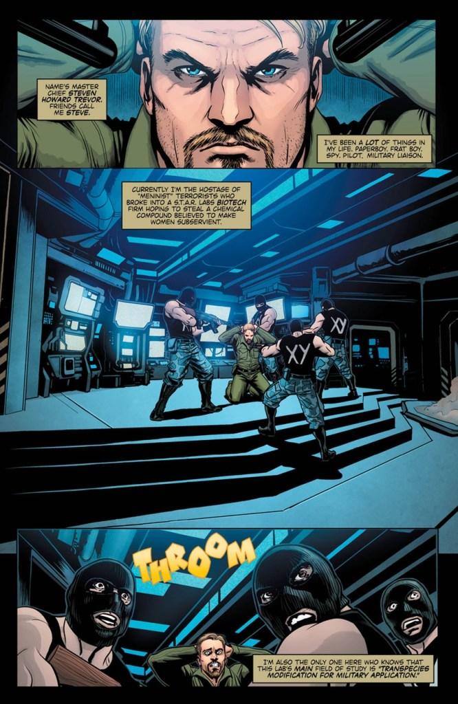 Wonder Woman: Steve Trevor Special #1