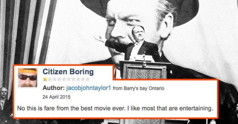 citizen kane bad review