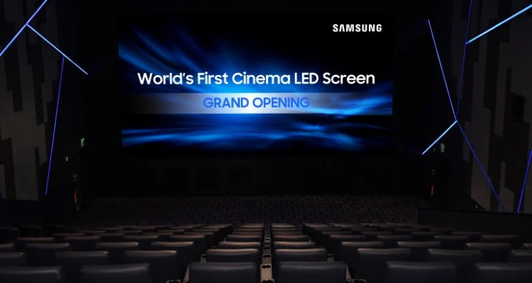 Samsung's Super S - The 33-Foot Cinema Screen