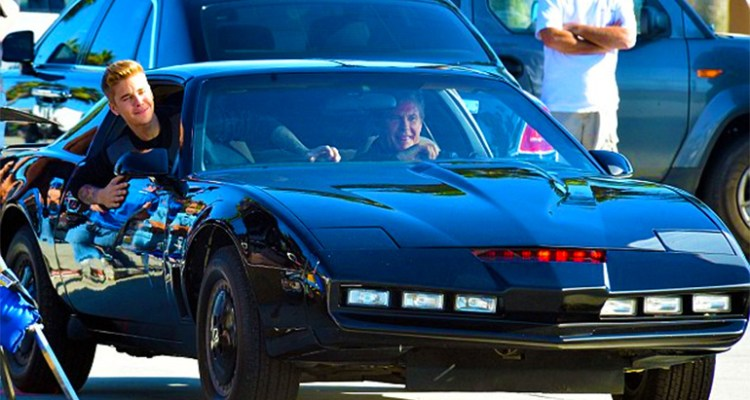Justin Bieber Will Provide The Voice Of Knight Rider's KITT