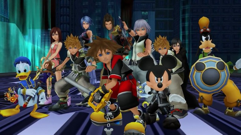 Kingdom hearts crossover