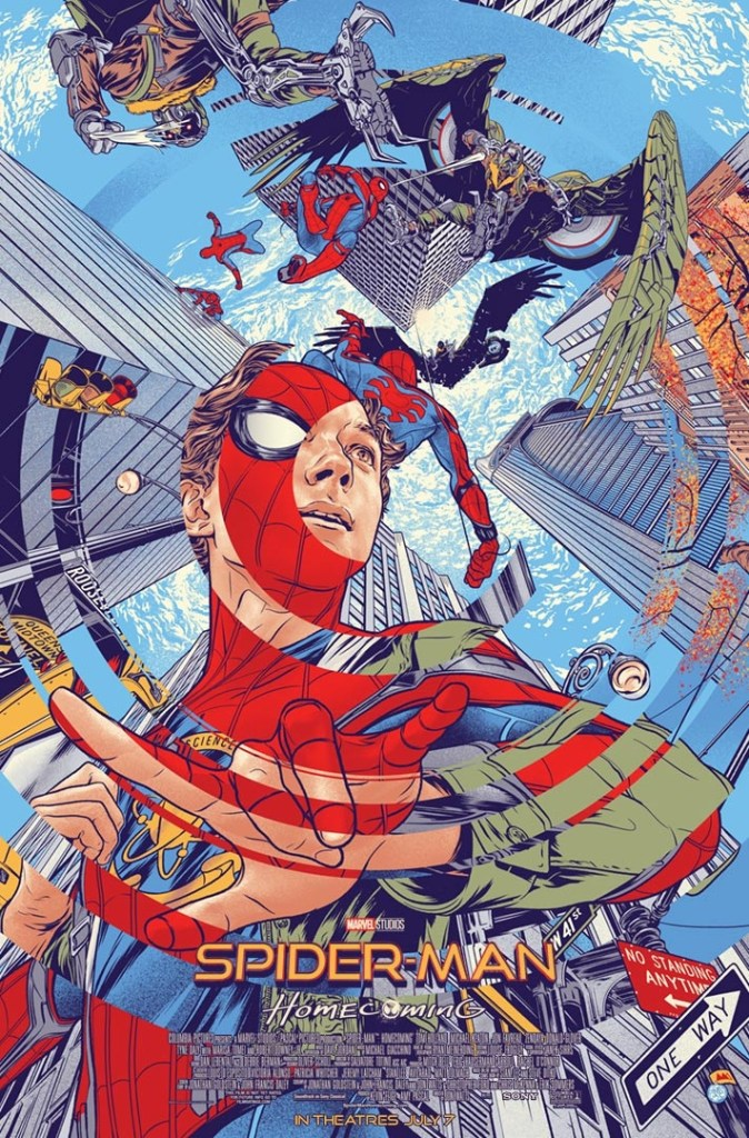 Mondo Saves The Day By Releasing A Spider-Man: Homecoming Poster
