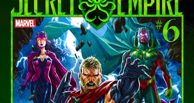 SECRET EMPIRE #6 - Review