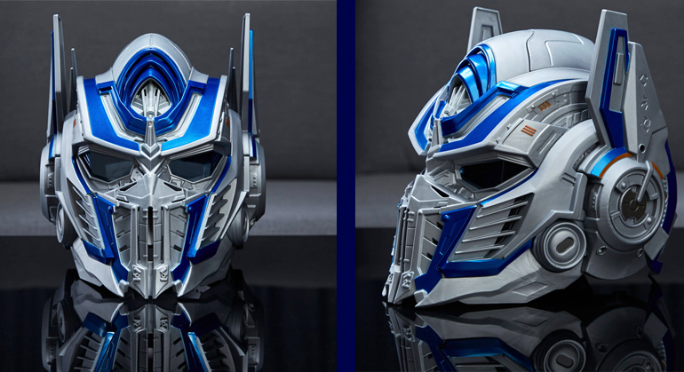 Transformers: The Last Knight Optimus Prime Voice Changer Helmet Review