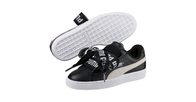 finest selection 6928c a96d0 Puma And Cara Delevingne Drop New Basket Heart Sneaker