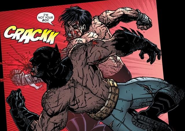 Dick Grayson Bruce Wayne Fight