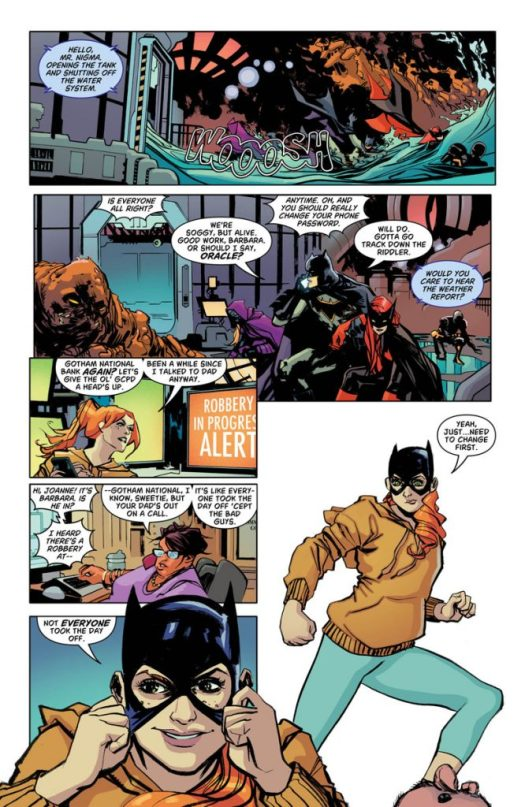 Batgirl And The Birds Of Prey #14 Comic Book Review