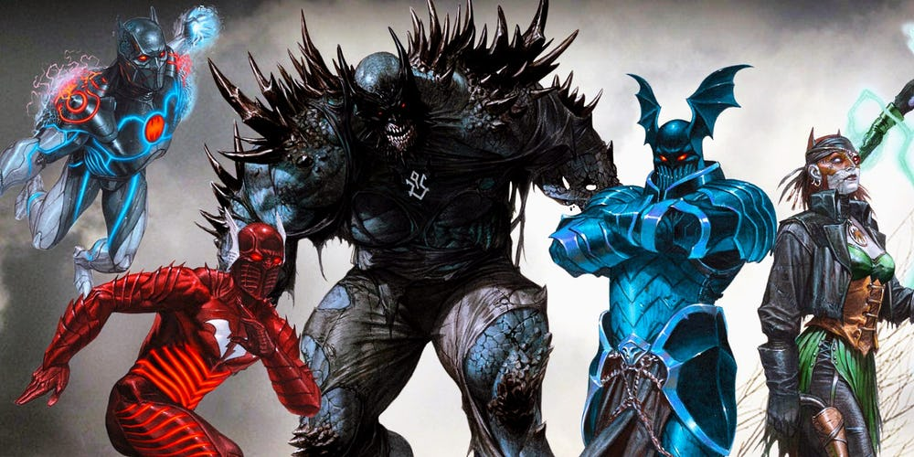 DC Reveals Another Dark Nights: Metal Villain: Doomsday Batman