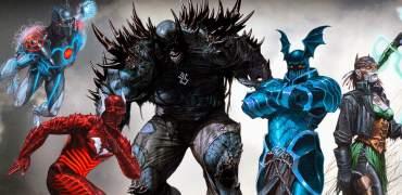 DC Reveals Another Dark Nights: Metal Villain: Doomsday Batman
