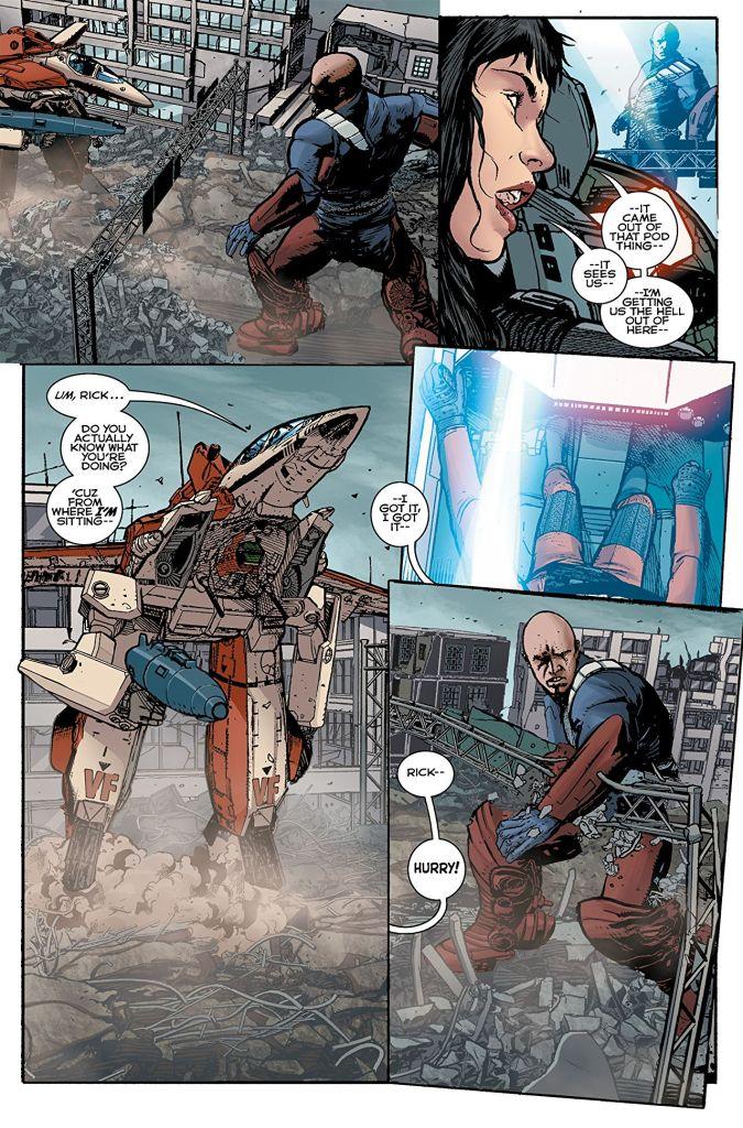 Robotech #2 Comic Book Review