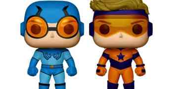 Blue Beetle And Booster Gold 2-Pack Metallic Funko POP! Review