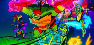New Teenage Mutant Ninja Turtles And African American April O'Neil