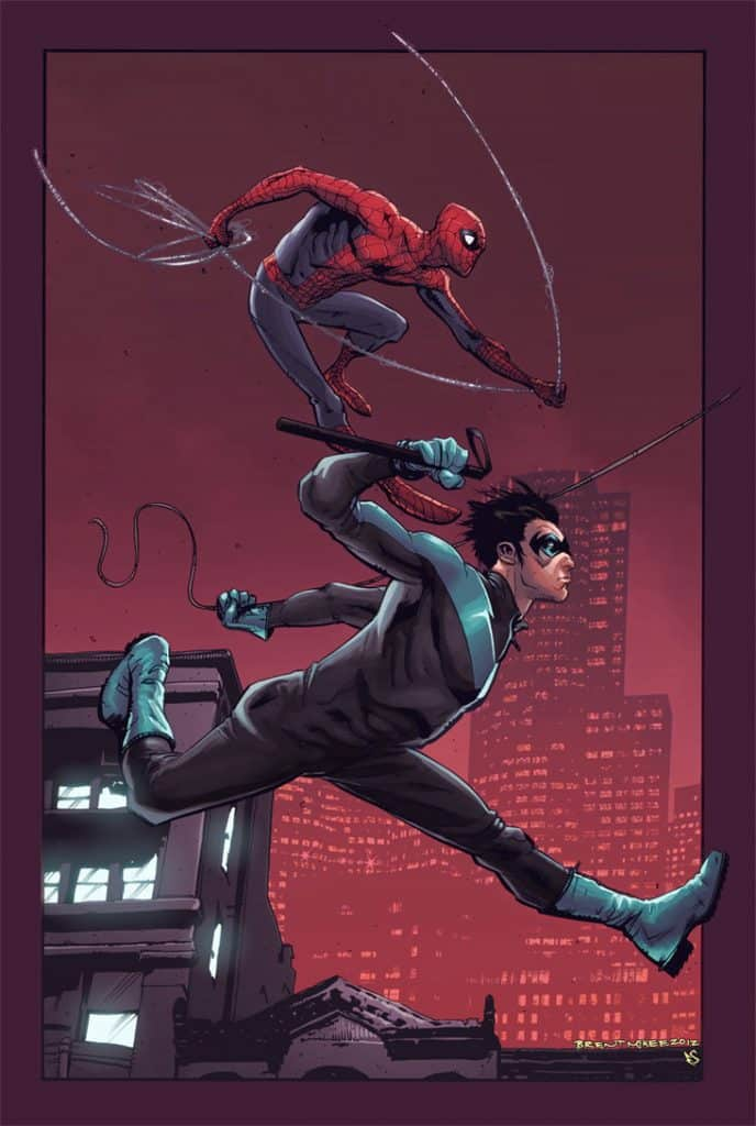Spider-Man Nightwing