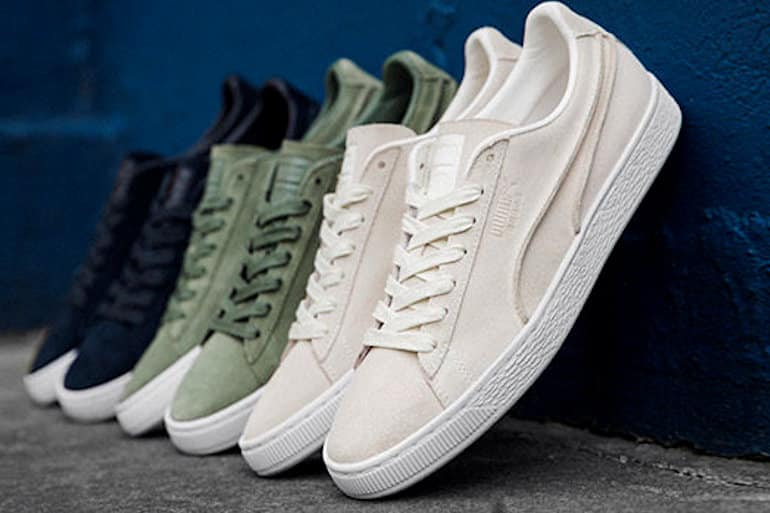ddc24a5bf9b68f PUMA Celebrates Suede 50 With Embellished Pack And Exposed Seams