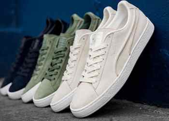 PUMA Celebrates Suede 50 With Embellished Pack And Exposed Seams