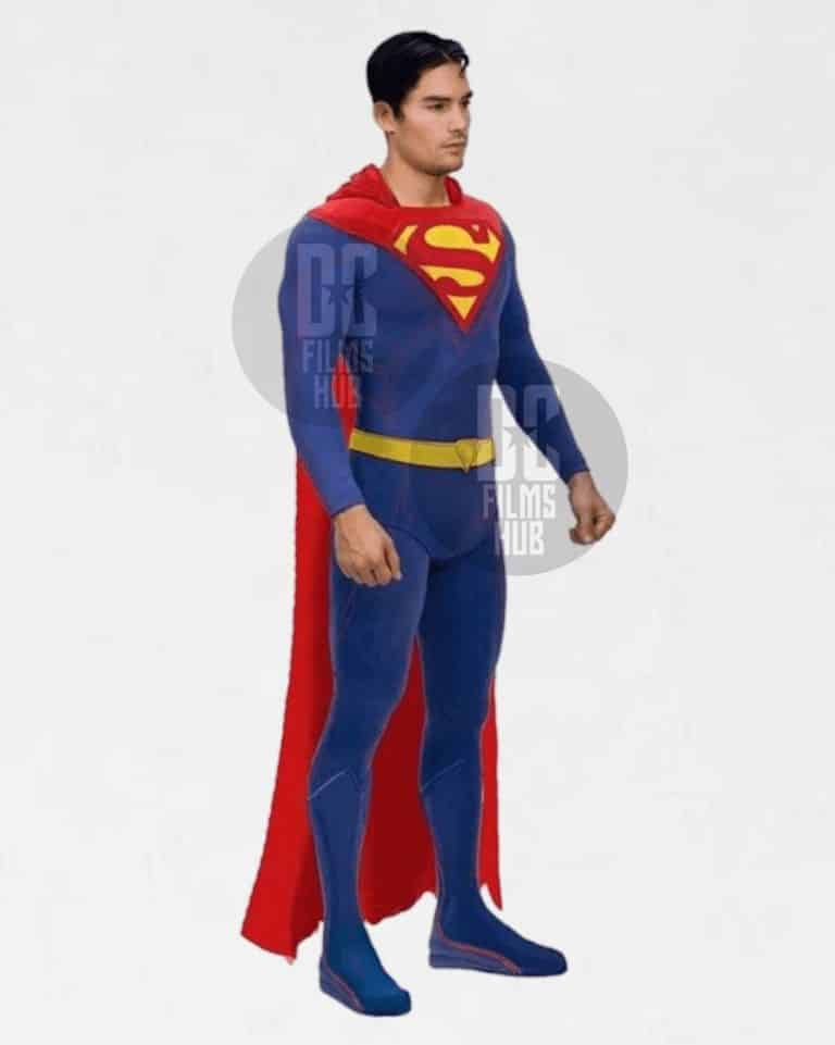 D.J. Cotrona's Superman Costume In Justice League Mortal