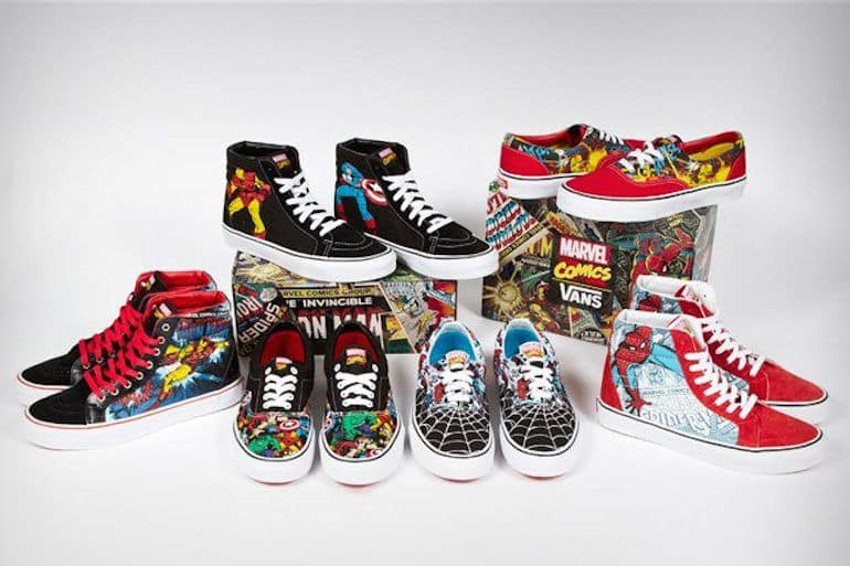 0ffe4f5d163cb6 Vans Teases Upcoming Partnership With Marvel Comics