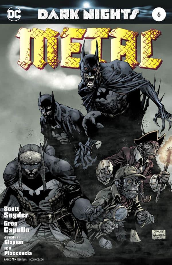 dark nights metal #6 review