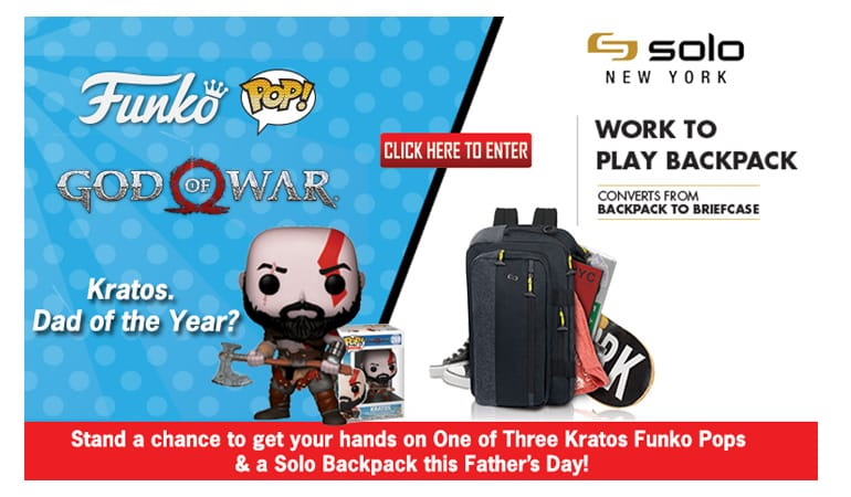 GOD OF WAR Funko Competition