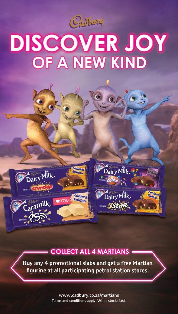 Martians Cadbury