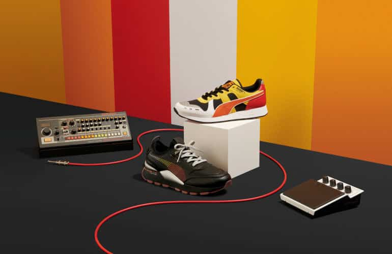 PUMA And Roland Drop Music-Inspired RS Sneakers for 808 DAY