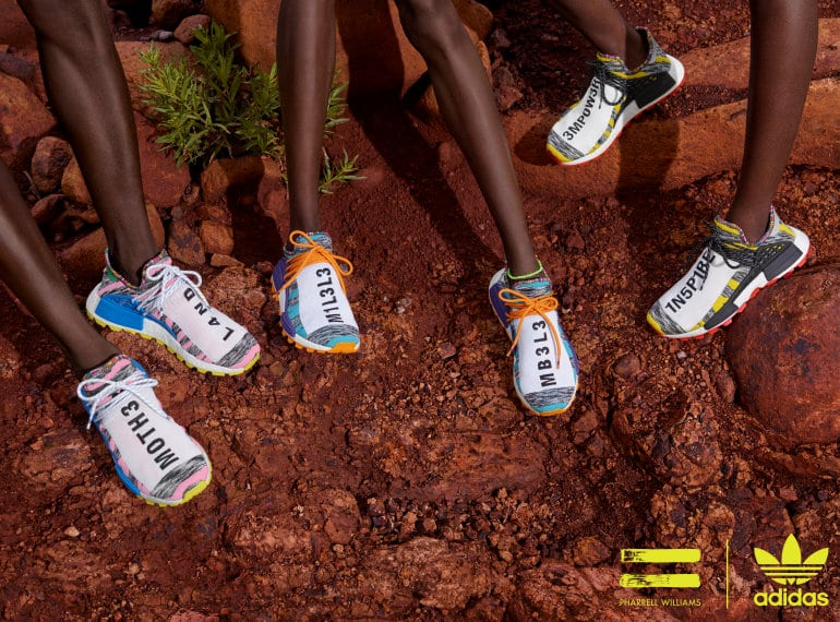 adidas Originals By Pharrell Williams Drops SOLARHU Collection