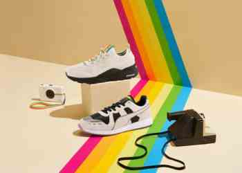The PUMA x Polaroid RS Sneaker Pack Drops In September