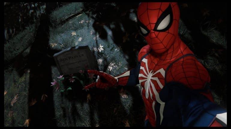Spider-Man - Uncle Ben's Gravesite